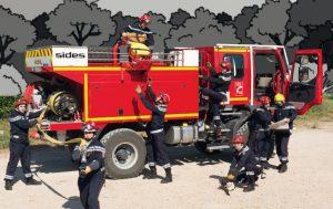 Photo de camion de pompier